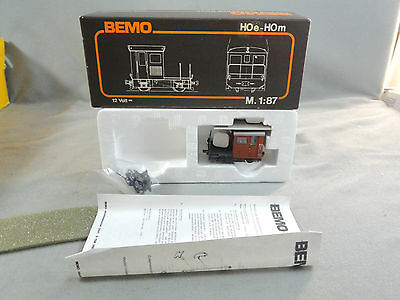 Bemo HOe-HOm Scale 1273 Rhb TM 2/2 55 Locomotive Tractor Mint in Box
