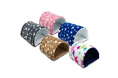 Guinea Pig and small animal fleece tunnel with two WATERPROOF pee pads