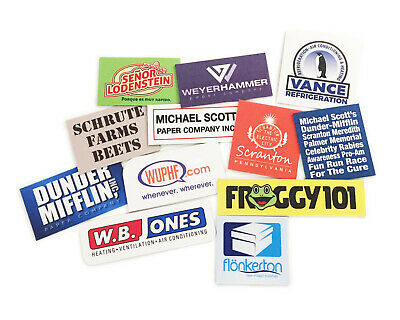Refrigerator Magnets 11 Total The Office Dunder Mifflin