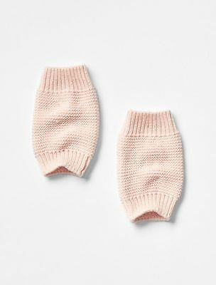 Baby GAP / Toddler Girls NWT Light Pink Cozy Sweater Knit Ballet Leg Warmers