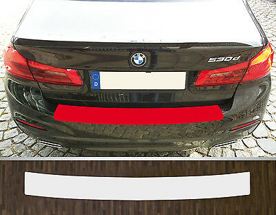 Clear Protective Foil Bumper Transparent BMW 5er G30 Saloon, from 2017