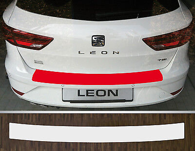 Bumper Strip Protective Film Clear Seat Leon st Estate, Facelift from 17