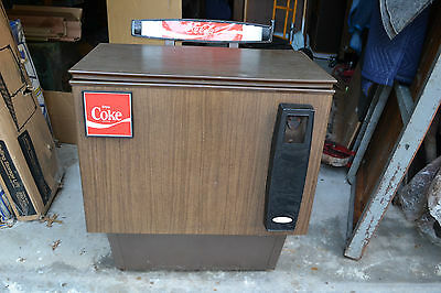 Vtg Enjoy Coke Cola Soda Pop Cooler Chest Vending Machine