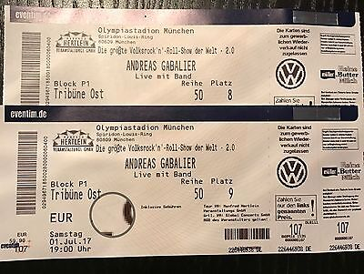 andreas gabalier m nchen olympiastadion 2 tickets block p1 eur 163 50 picclick de. Black Bedroom Furniture Sets. Home Design Ideas