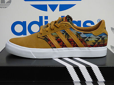 NEW AUTHENTIC ADIDAS Seeley Premiere Men's Shoes - Mesa/White; B27367