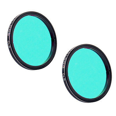 "2X OPTOLONG 2"" CLS Filter for Telescope 2'' Eyepiece Scratch-resistant New Best"