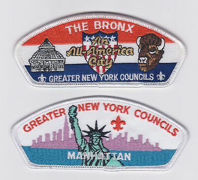 Usa Boy Scouts Of America - Greater New York An All-America City Scout Patch Csp