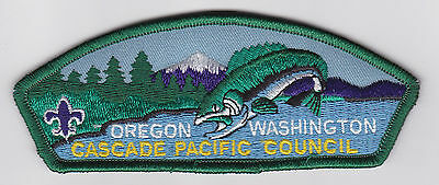 Usa Boy Scouts Of America - Bsa Cascade Pacific Scout Council Shoulder Patch Csp