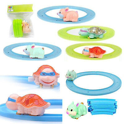 Set Track Toy for Baby Kids Child Game Funny Tortoise Clockwork Cute Toys