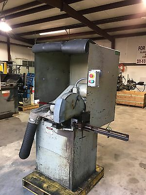 "16"" 7.5 HP Fixed Abrasive Cut Off Saw, Cut-Off Saw With Dust Collector System"