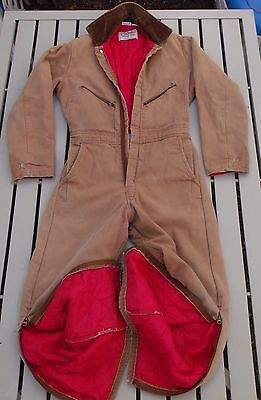 Walls Insulated Coveralls S Small Reg. 34-36 Blizzard Pruf, made in USA!