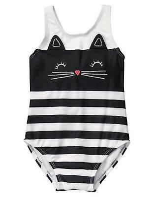 NWT Gymboree Kitty in Pink Kitty Swimsuit 2T 3T 4T Swim shop Toddler