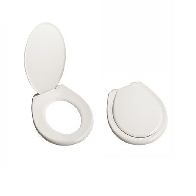 Standard Caroma Toilet Seat White Bottom Fixing Fits All