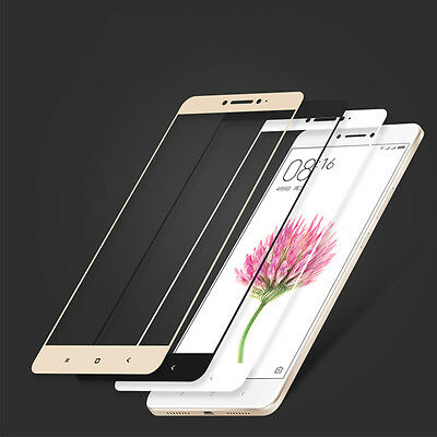 Full Cover 3D Curve Tempered Glass Screen Protector Film For Xiaomi Max Mi Max