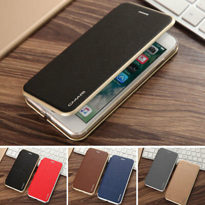 Luxury Flip Leather Wallet Card Holder Magnetic Case Cover For iPhone 7 6s& Plus