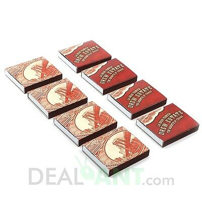Drew Estate Cigar Pack Box Wooden Matches *new In Box*