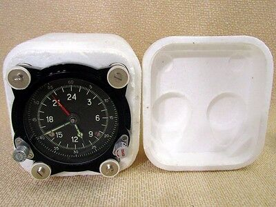 129-ChS 55M Vintage USSR Russian Aircrafts TU MIG HELICOPTER MI PANEL CLOCK NEW
