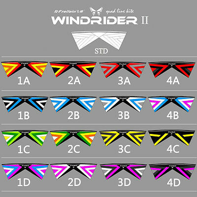 Improved New STD 4 Line Stunt Kite Easy to Fly for Kite Sports Wind Game