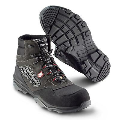 Mens Waterproof Safety Shoes Hiker BRYNJE CANIS S3 Metal free and ESD
