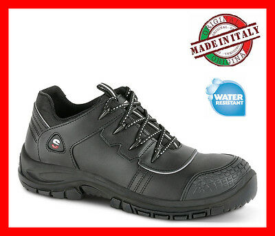 Mens Work Safety Trainers Shoes SECOR EMPIRE S3 SRC Lether