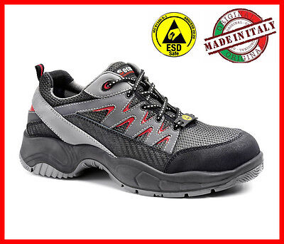mens Safety Shoes S1P SUMMER LIGHT Low SECOR VEGA NEW