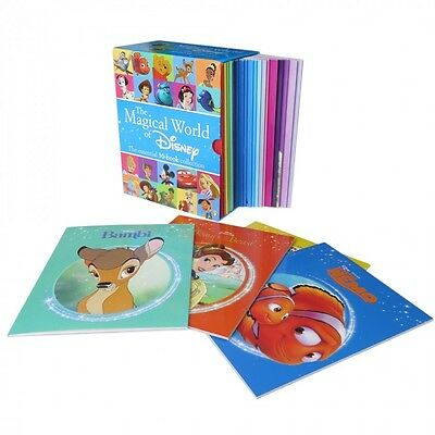 The Magical World of Disney - 30 Book Box Set Collection - (Paperback)