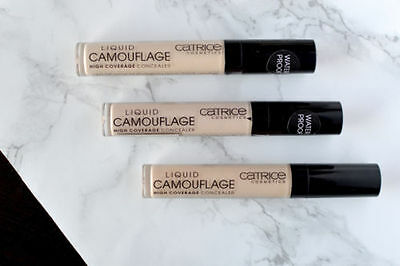CATRICE  - Liquid Camouflage - High Coverage Waterproof Concealer -  3 Shades