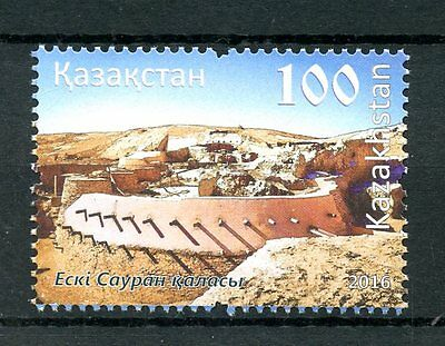 Kazakhstan 2016 MNH Architecture of Ancient Sauran 1v Set Forts Stamps