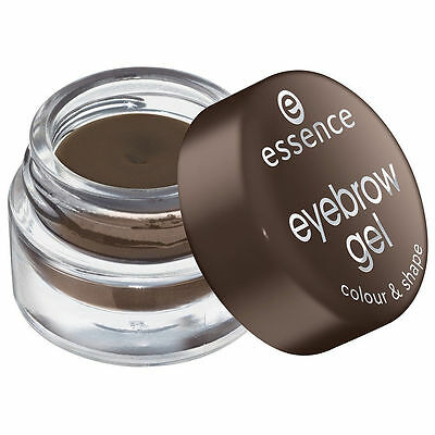 Essence Eyebrow Gel For Brown Eyebrows - Color & Shape / Perfect Definition - 3g