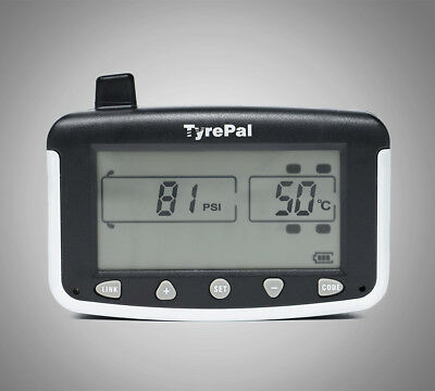 TyrePal TC215/B Tyre Pressure Monitoring System TPMS with 4 Sensors