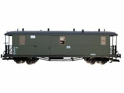 Zenner Saxon Baggage Coach Dr, Arched Roof, Green, Stainless Steel Wheels,