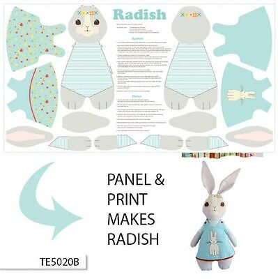 Bunny Trail Radish Bunny Panel * New * Cute * In Stock * Free Post * 🐇