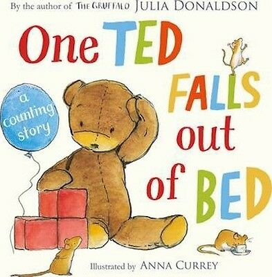 One Ted Falls Out of Bed by Julia Donaldson (Paperback) Picture Book