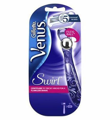 Gillette Venus Swirl Flexiball Women's Razor 100% Authentic UK Supplier