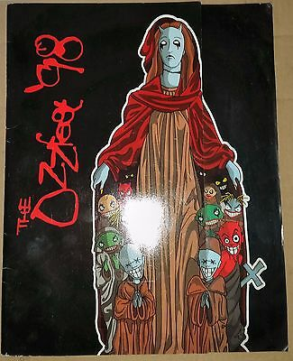 Ozzfest 98 -  Concert Programme Rock Ozzy Free Shipping