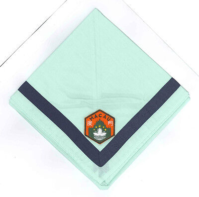 MACAU (MACAO) SCOUTS - Official Overseas Contingent Scout Neckerchief / Scarf
