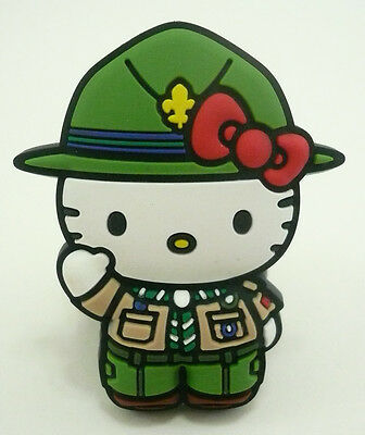 Scouts Of Japan (Nippon) - Hello Kitty Scout Neckerchief N/c Woggle Scarf Slide