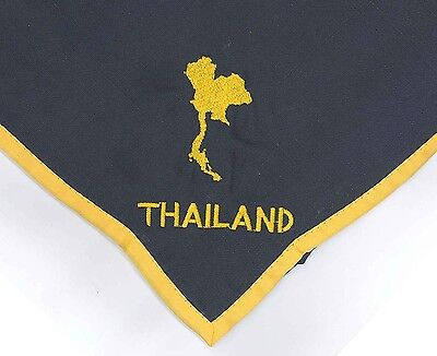 SCOUTS OF THAILAND - SCOUT LEADER / COMMISSIONER Contingent Neckerchief Scarf