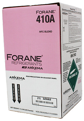 Refrigerant 25lb tank 410a R410a New Full and Factory Sealed Ships today