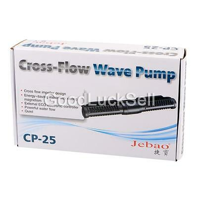 JEBAO CP-25 Aquarium Wave Maker Reef Coral Fish Tank Cross Flow Pump+ Controller