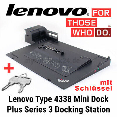 Lenovo Dockingstation 4338 Thinkpad 3.0 T410 T420 T430 T520 T530 W530 X220