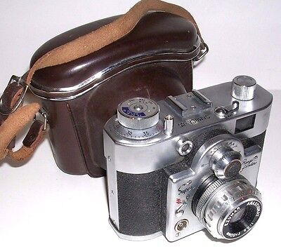 Vintage Samoca 35 Super Camera w. Case and Box
