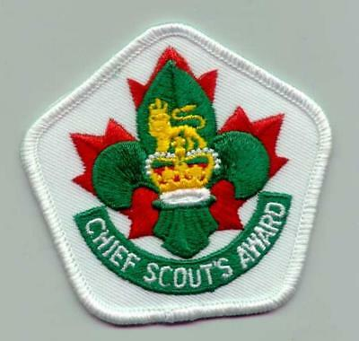 SCOUTS OF CANADA / CANADIAN - CHIEF SCOUT'S Higher Rank Award Patch
