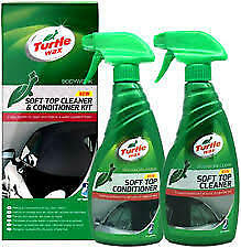 * Pack of 2 * Turtle Wax Cabriolet Fabric Hood Cleaner and Preserver [FG7610]