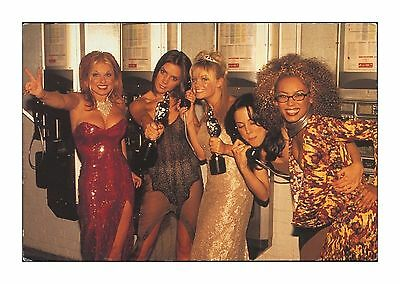 The Spice Girls At The 1997 Brit Awards (Wannabe) Best Single - Blank Back Card
