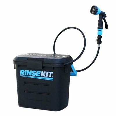 Rinse Kit Portable Sprayer 2-Gallon w/ Nozzle Pressurized Shower Camping Outdoor