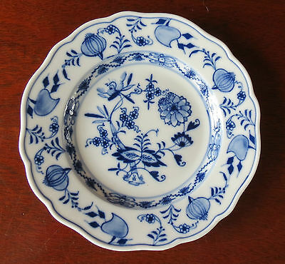 "Meissen Blue Onion X Crossed Swords 6 ¼"" Bread & Butter Plate(s)"