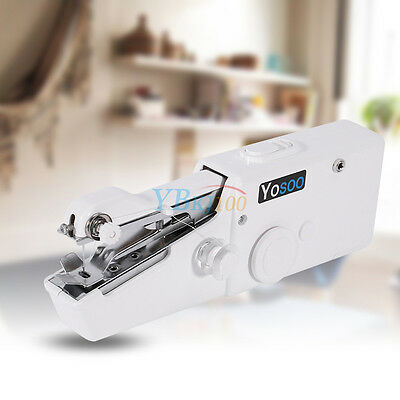 Mini Portable Household Handy Stitch Electric Handheld Sewing Machine Gifts SALE
