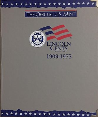 "1909-1973 Lincoln Cent ""official U.s. Mint Album""  By H.e.harris - New Old Stock"