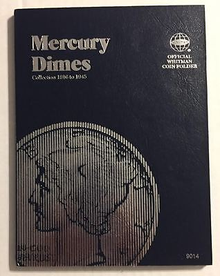 Mercury Dime (1916-1945) #9014 Coin Folder By Whitman - New Old Stock